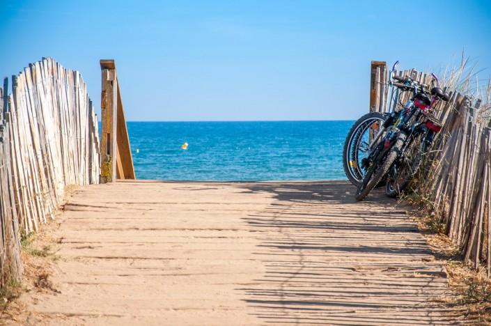 Camping Les Sablons-Bord de Mer-Acces direct plage