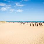Camping Les Sablons-Bord de Mer-Plage jeune
