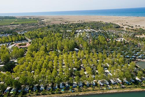 Camping l 39 espiguette plage pieds dans l eau camping bord for Camping grau du roi bord de mer avec piscine