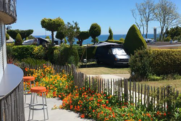 Camping DOMISILAMI-camping terrasse
