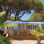Camping Le Pansard-Mobil home