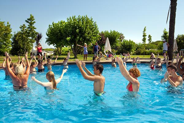 Camping El pinar Espagne-Aquagym Piscine