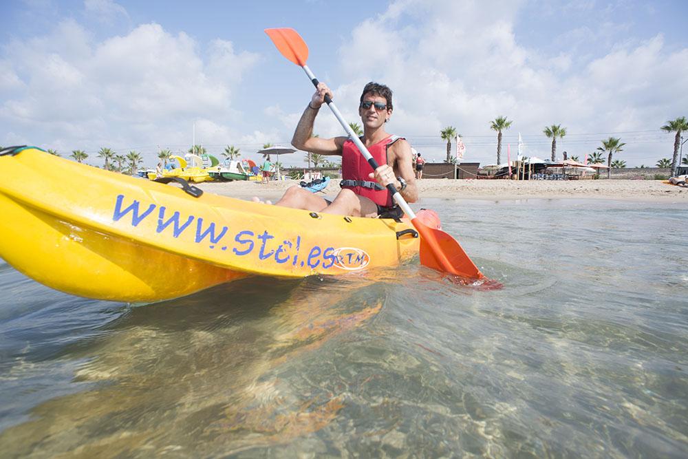 Camping Stel_Kayak