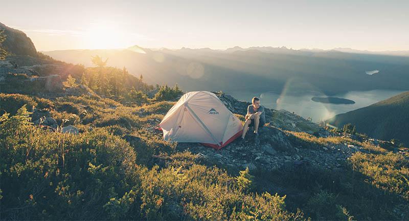 camping dormir
