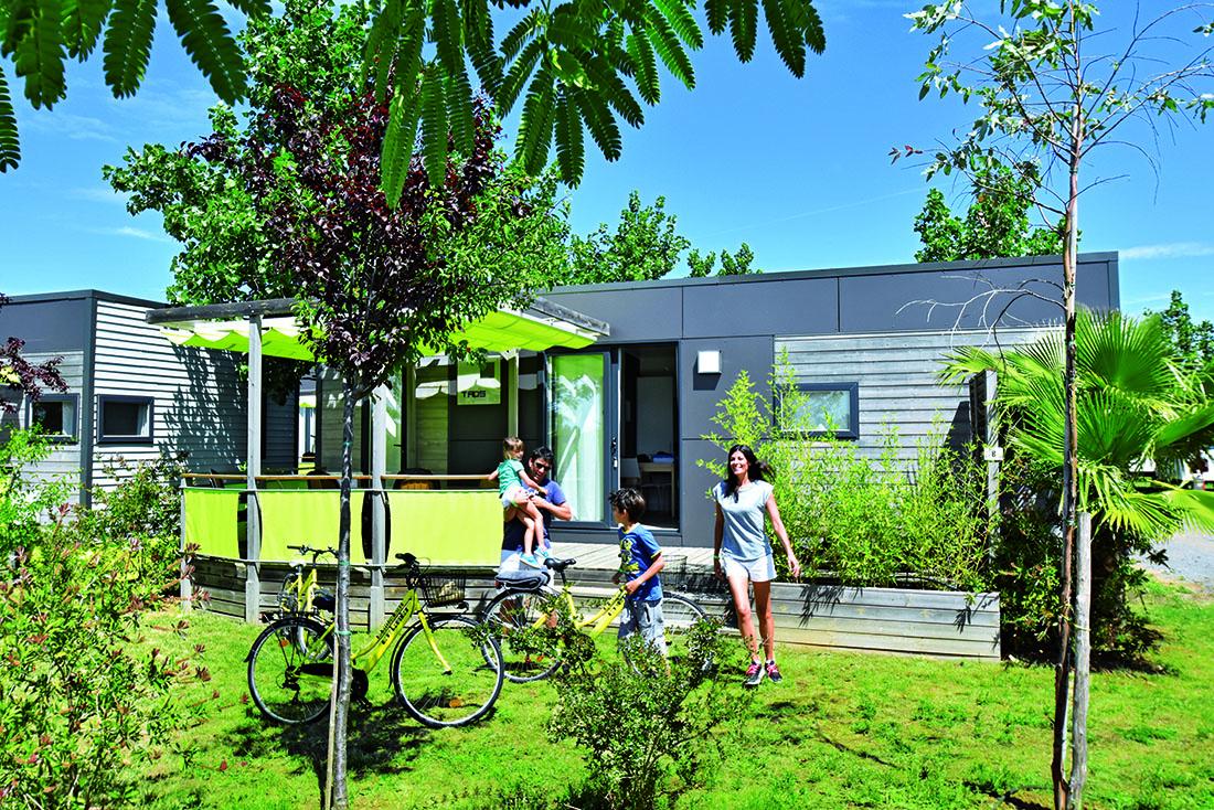 Camping 5 etoiles-Bord de mer-Les Mimosas-Locatif Mobil Home