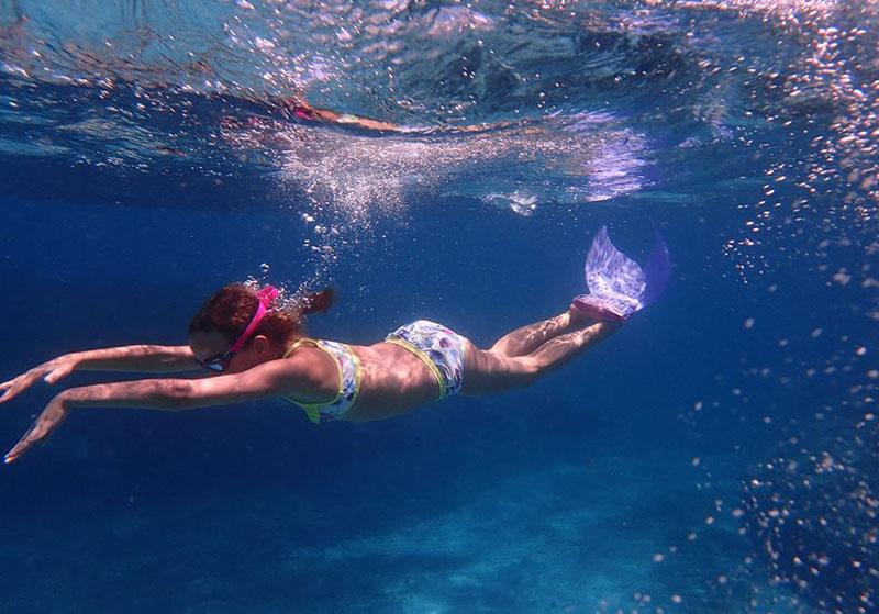 Le snorkeling-Enfants