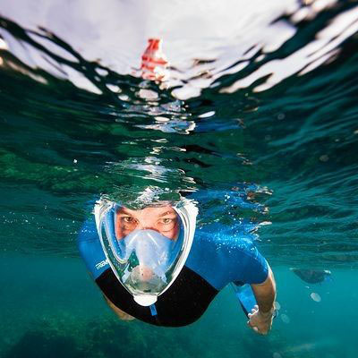 Le snorkeling-Masque Decathlon