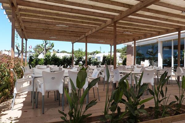 Camping 3 estrellas Espagne-Restaurant