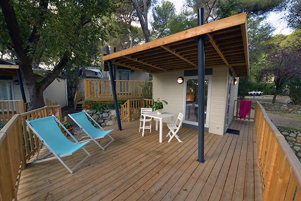 Camping Le Parc des Maurettes-Mobil home Cote d azur